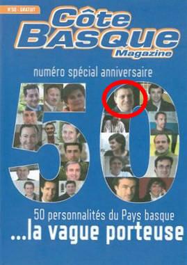 Jean-Marc CHARRITTON PARMI LES 50 PERSONNALITÉS QUI « FONT » LE PAYS BASQUE