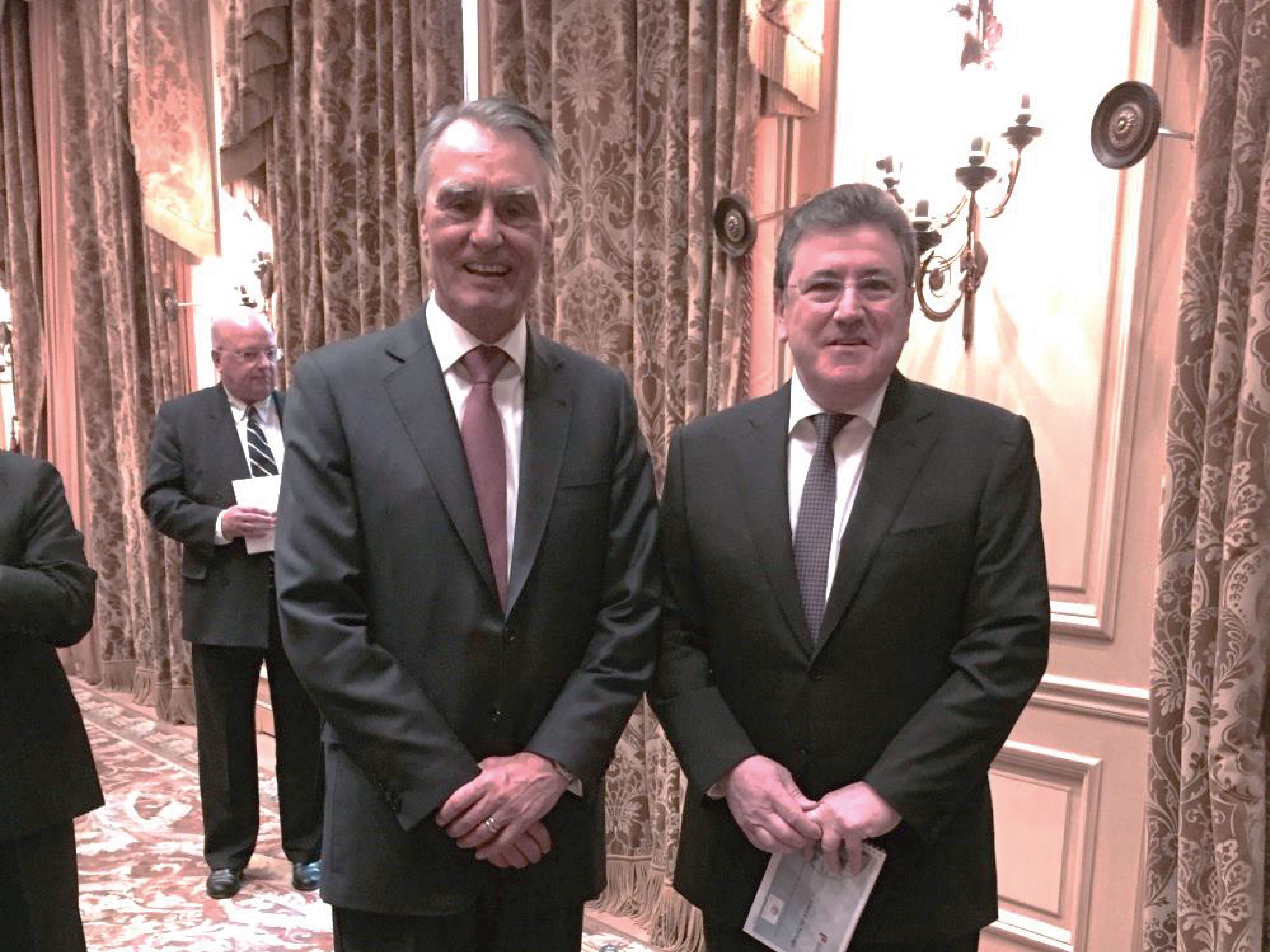 Rencontre du Président de la République Portugaise, M. Aníbal CAVACO SILVA