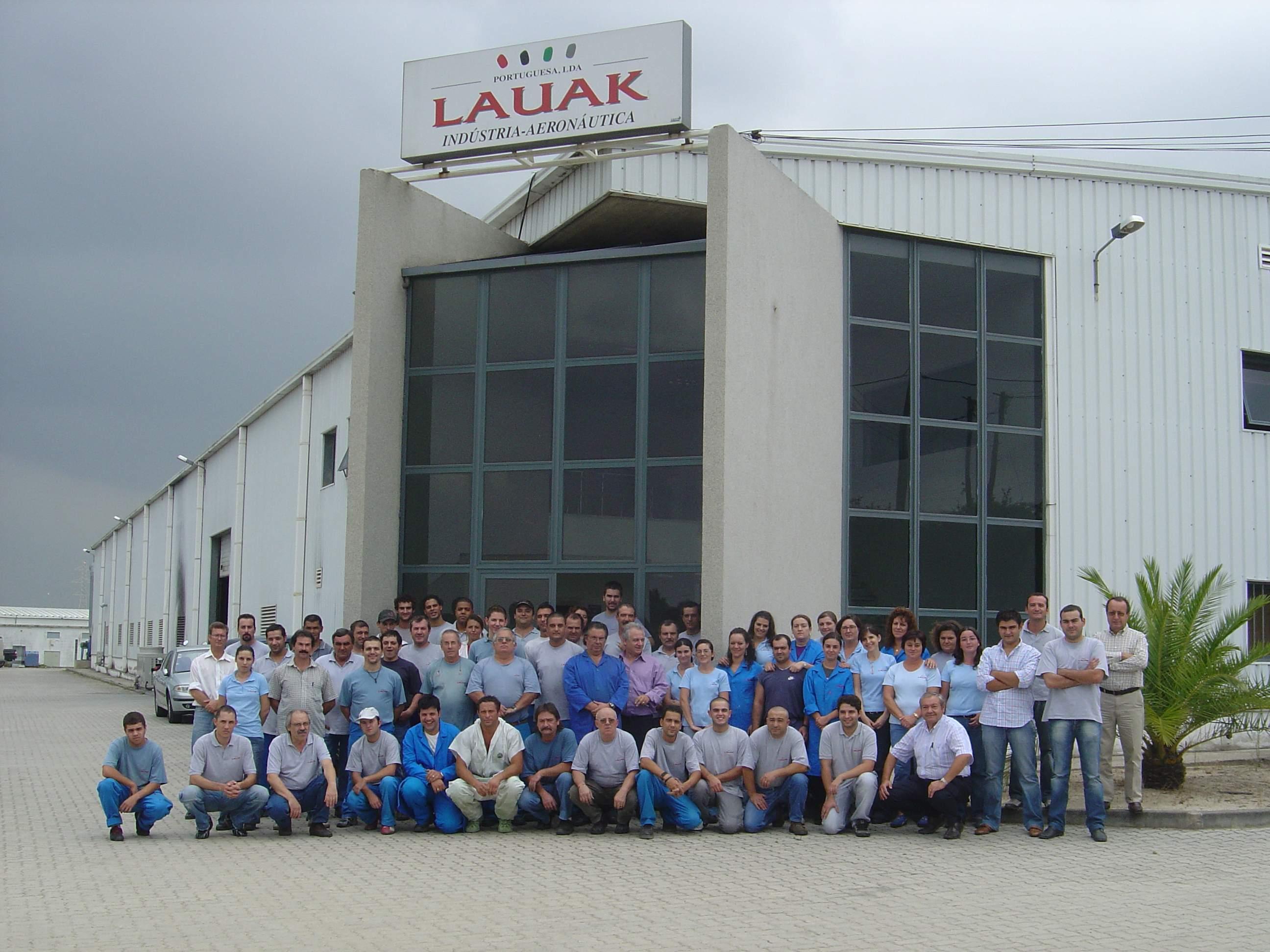 Usine et salariés LAUAK PORTUGAL 2006