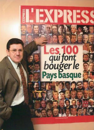M.CHARRITTON PARMI LES « 100 QUI FONT BOUGER LE PAYS BASQUE »
