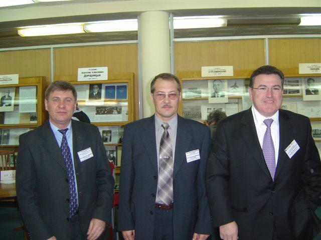 Déplacement en Russie et rencontre de M. KOSHCHEEV, M. KUZMIN de la Société TEPLOOBMENNIK