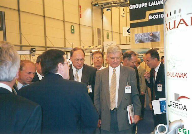 2000 : SALON AERO SOLUTION DE BORDEAUX