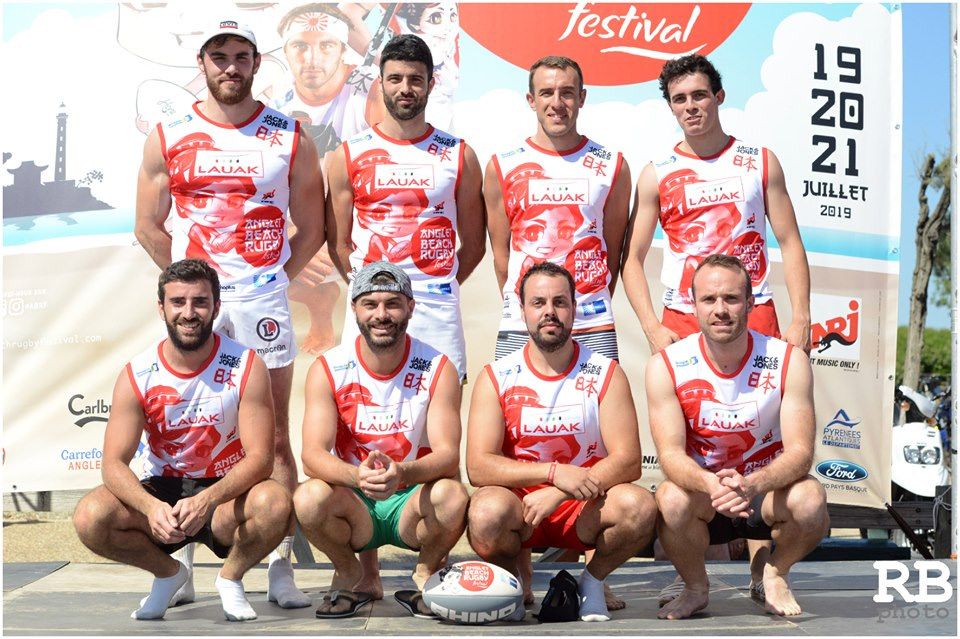 LAUAK BEACH RUGBY FESTIVAL ANGLET 2019
