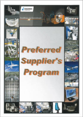 LAUAK « PREFERRED SUPPLIER » D'EADS SOGERMA