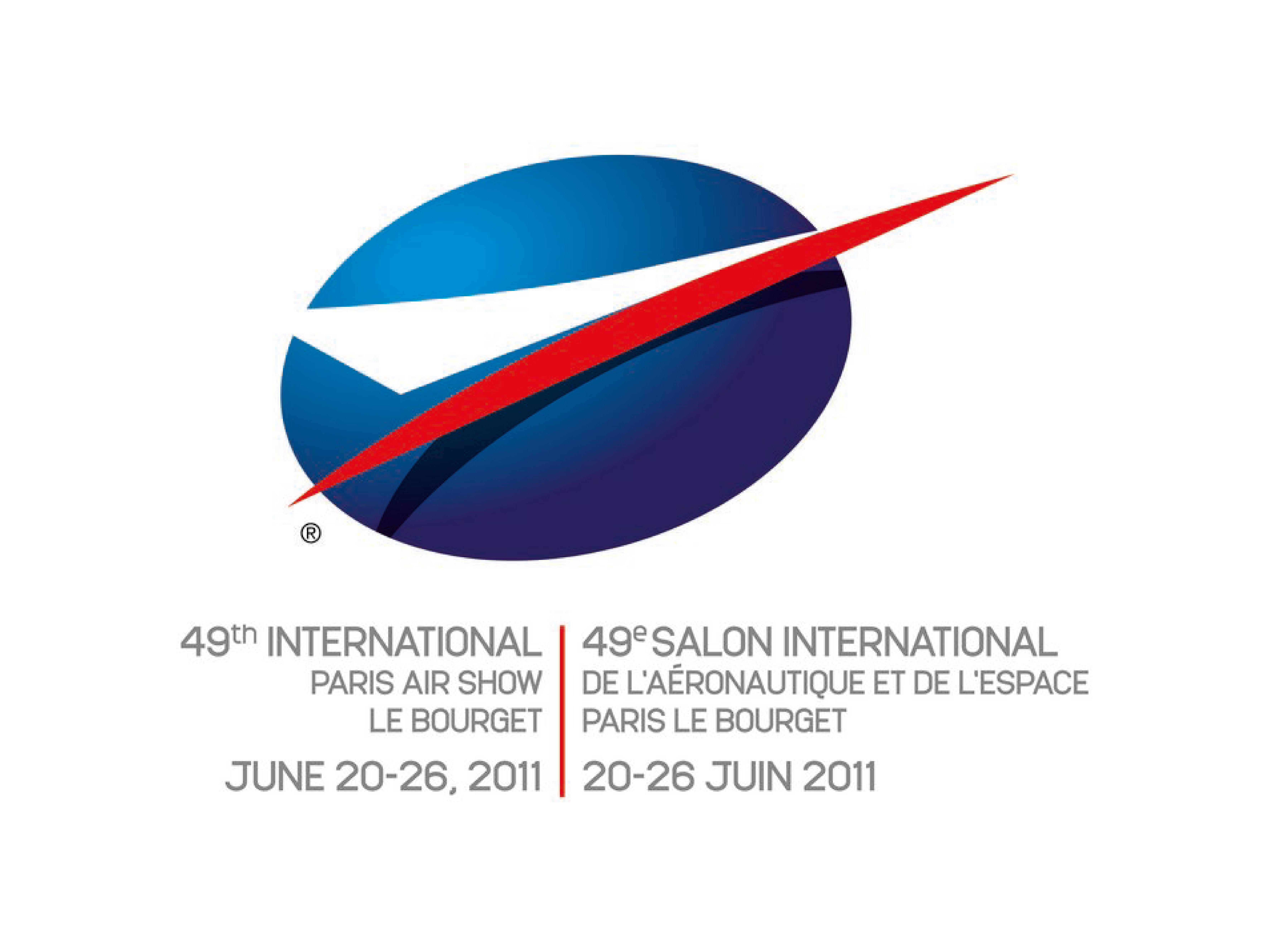 LOGO salon internation de l'aéronautique et de l'espace Paris le Bourget 20-26 juin 2011