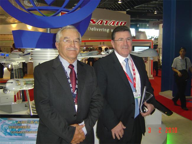 Rencontre avec M. Yair SHAMIR – Président du Conseil d'Administration d'IAI