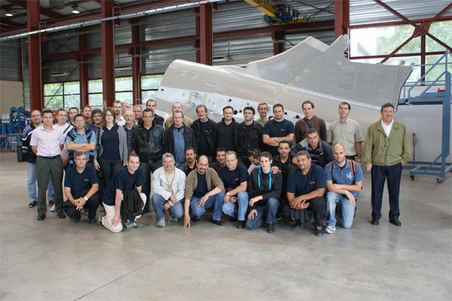 Septembre 2011 - Visite à Ayherre Hasparren salariés Toulouse