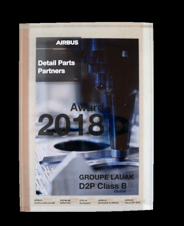 Airbus Award D2P class B 2018