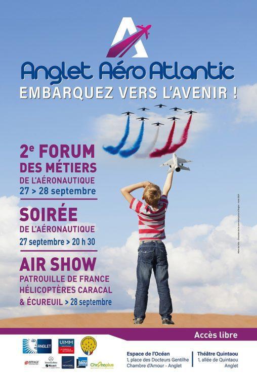 AFFICHE 2019 ANGLET AERO ATLANTIC
