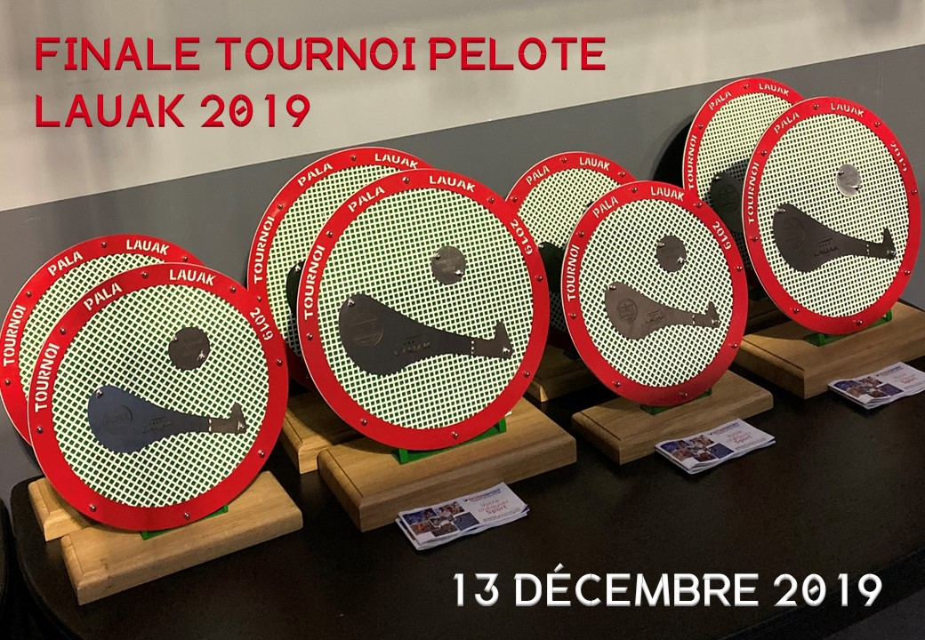 FINALE TOURNOI PELOTE LAUAK 2019